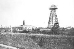 Panorámica de la torre de tesla