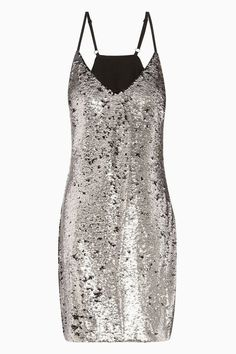Pin for Later: Party On With These 50 Party Dresses Under £50  Next Grey Sequin Cami Dress (£48)