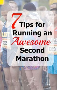 Here are 7 tips to help you run an awesome (and faster) second marathon. #running #run