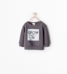 ZARA - COLLECTION SS15 - PRINTED SWEATSHIRT