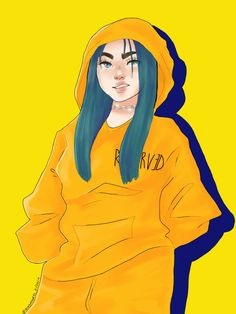 Bad Guy Bad Guy Billie Eilish fanart Drawn by me - App: Procreate - ig:leckydoodles Drawing Sketches, Art Drawings, Baby Pink Aesthetic, Cute Kawaii Animals, Drawing Reference Poses, Fashion Mode, Leila, Cute Art, Anime Characters