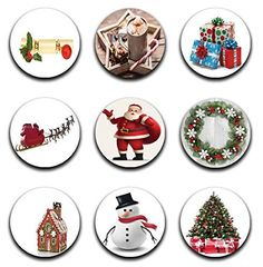 A pack of 9 christmas themes Pattern weights Ideal for weighing down patterns on delicate fabrics no need for pins TV sewing Bee by RICEMETALS on Etsy