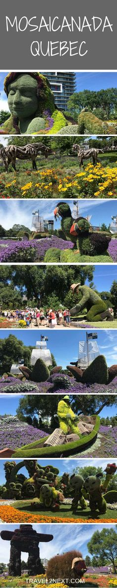 MosaiCanada 150 - Enchanted Garden in Canada. One of the most impressive things you�ll see in Canada this year is the garden artistry at MosaiCanada 150.