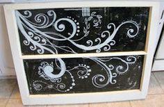 Paint on Old Windows