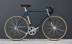 "Fixed Gear bike ""Digrì"" by Biascagne Cicli  - Bici scatto fisso"