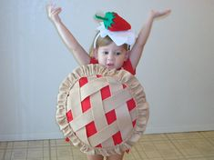 Baby Costume Toddler Costume Pie Halloween by TheCostumeCafe