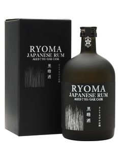 Ryoma Japanese Rum 7 Years Old : The Whisky Exchange Alcohol Bottles, Liquor Bottles, Tequila, Whisky Shop, Rum Bottle, Scotch Whiskey, Wine And Spirits, Bottle Design, Alcoholic Drinks