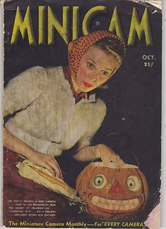 vintage halloween magazine minicam miniature camera monthly 1939 - Halloween Magazines