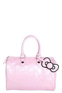 Loungefly - Hello Kitty Pink Embossed City Bag
