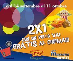#pollo #cinema #gratis #girarrostisantarita #promo #cineplexmassaua