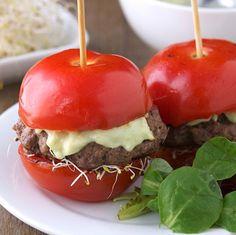 tomato burger :)