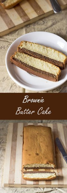 Brownie Butter Cake | Not Out of the Box...  This delicious Brownie Butter Cake has the taste of Brownie and Butter Cake into one. It's a treat to the eyes, a dream cake yet easy to make!