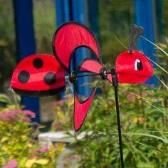 Fancy Details about Hochwertiges WINDRAD Windspiel Little MAGIC Ladybug von CIM Marienk fer