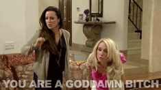 Throwback RHOBH gif! The Real Housewives of Beverly Hills