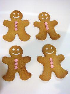 Gingerbread Men | Lydia | Flickr