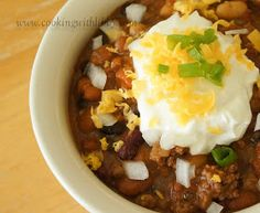 Cooking With Libby: Homemade Chili