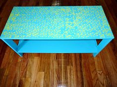 DIY Star Covered TV Stand