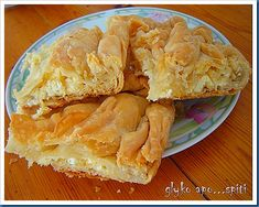 Greek Recipes, Vegan Recipes, Greek Pastries, Filo Pastry, Cheese Pies, Bread Cake, Spanakopita, Apple Pie, Recipies