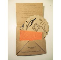 KIT ATRAPASUEÑOS <Mini> Naranja. Kit, Paper Shopping Bag, Cover, Books, Making Dream Catchers, Orange, White People, Livros, Libros