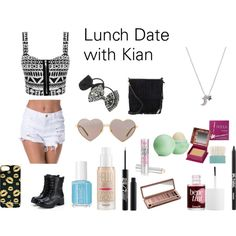 """""""Lunch Date with Kian Lawley"""" by skyeshearer on Polyvore"""