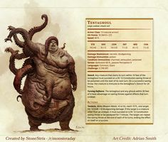 Undead stats ghoul tentacles