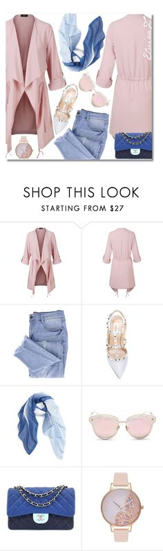 """""""LMNT"""" by elza76 ❤ liked on Polyvore featuring LE3NO, Essie, Valentino, Caslon, LMNT, Chanel and Olivia Burton"""