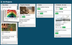 Time and project management tool Trello, hooks into many other apps and calendars. Very useful (agile) project management tool. Design Thinking, Feather Drawing, Sketchbook Cover, Software, Apps, Electrical Tape, Fictional World, Branding, World Leaders