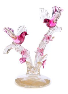 Buy online, view images and see past prices for Enrico Cammozzo Murano Art Glass Sculpture. Invaluable is the world's largest marketplace for art, antiques, and collectibles. Bird Artwork, Glass Artwork, Bird Sculpture, Sculptures, Diy Plastic Bottle, Bird Perch, Glass Birds, Tree Designs, Glass House