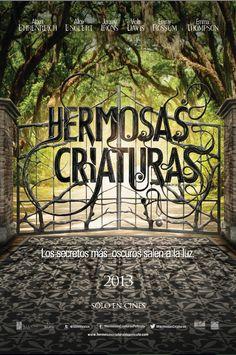 """Póster Oficial de """"Hermosas Criaturas"""" 15 de Febrero SOLO EN CINES."""