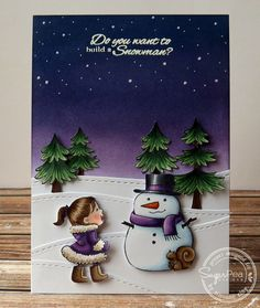 SemSee's Sparkly Scribblings: SugarPea Designs Holiday Release 2014: Frosty Friends
