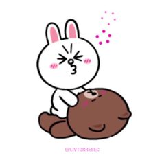 Love Cartoon Couple, Cute Cartoon Pictures, Cute Love Cartoons, Kiss Emoji, Hug Gif, Cony Brown, Bunny And Bear, Cute Love Gif, Good Morning Love