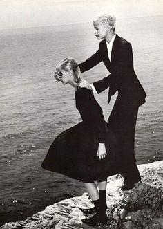 Carolyn Murphy by Helmut Newton for Vogue Italia