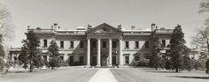 """Whitemarsh Hall"", Edward T. Stotesbury's palatial estate in Wyndmoor, Pennsylvania."