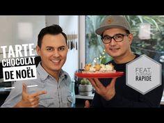Tarte CHOCOLAT COCO de Noël facile feat. Cuisine Rapide - YouTube