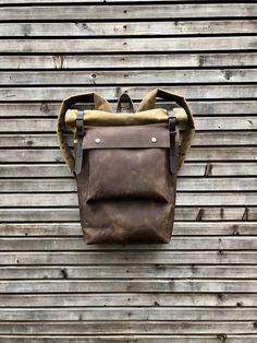 in van backpacks 84 2019 beste Oilcloth Backpack en afbeeldingen wqIFHtFUE