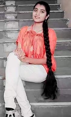 Long Hair Indian Girls, Indian Long Hair Braid, Loose Hairstyles, Indian Hairstyles, Ponytail Hairstyles, Long Hair Ponytail, Braids For Long Hair, Beautiful Braids, Beautiful Long Hair