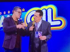O cantor Nani Azevedo gravou participação no Programa Raul Gil que irá ao ar no…