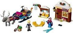 41066-1: Anna & Kristoff's Sleigh Adventure LEGO 2016