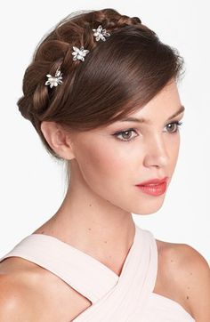 Untamed Petals by Amanda Judge 'Kyle' Hair Pins (Set of 3) available at #Nordstrom