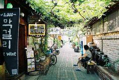 Insadong - Seoul, Korea.