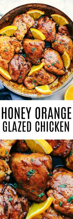 Honey Orange Glazed Chicken combines delicious spices and a sweet and tangy honey orange glaze.  This makes the perfect meal for your family and has amazing flavor! USE 1/4 OF THE CHILI INDICATED!
