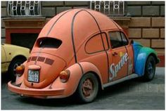 Sprite's basketball car. How much would you spend to be driving this baby?!