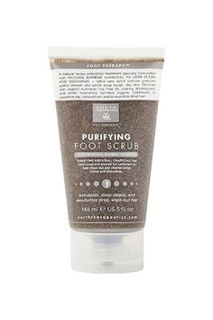 How To Get The Softest Hands & Feet Without Ever Stepping Into A Salon #refinery29  http://www.refinery29.com/soft-hands-feet-nourish-skin-in-winter#slide-11  FeetIf you have smelly or dry feet, you need a scrub. This purifying exfoliator has medicinal charcoal for heavy-duty healing.Earth Therapeutics Purifying Foot Scrub, $8, available at Ulta Beauty....