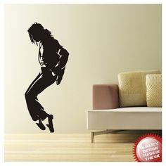 Michael Jackson vinyl wall decal sticker LARGE by circlewallart