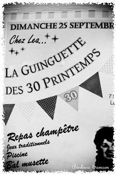 {70 ans René} Anniversaire Guinguette…