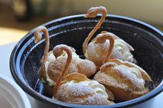 Do you still like swans??  If so, I have a cream puff for you...