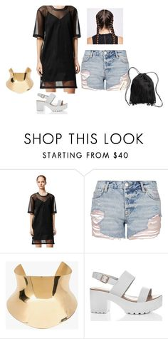 """""""trends"""" by nishadnancy on Polyvore featuring Calvin Klein, Topshop, Balmain and H&M"""
