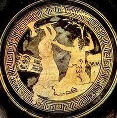 Clitemnestra dándole muerte a Cassandra