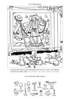영어 숨은그림찾기 프린트 <2> : 네이버 블로그 Hidden Picture Puzzles, School Humor, Funny School, Hidden Pictures, Kindergarten Worksheets, Maze, Coloring Pages, Diy And Crafts, Homeschool
