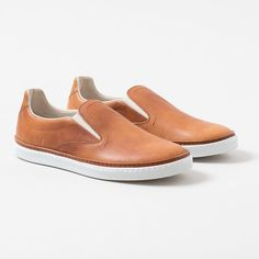 MAISON MARTIN MARGIELA - Leather Slip-Ons